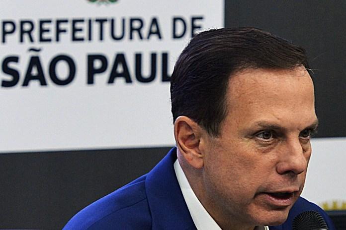 João Doria, prefeito da cidade de São Paulo