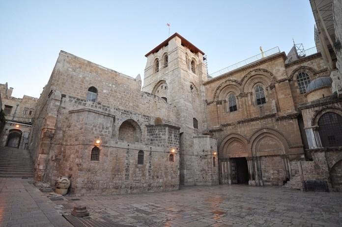 Igreja do Santo Sepulcro, em Jerusalém