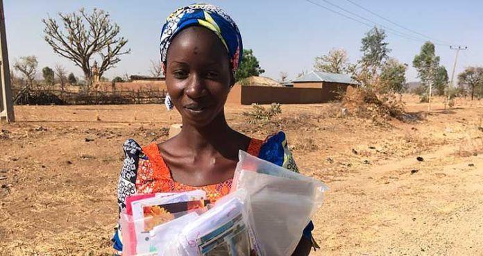 Mercy, cristã nigeriana sequestrada pelo Boko Haram