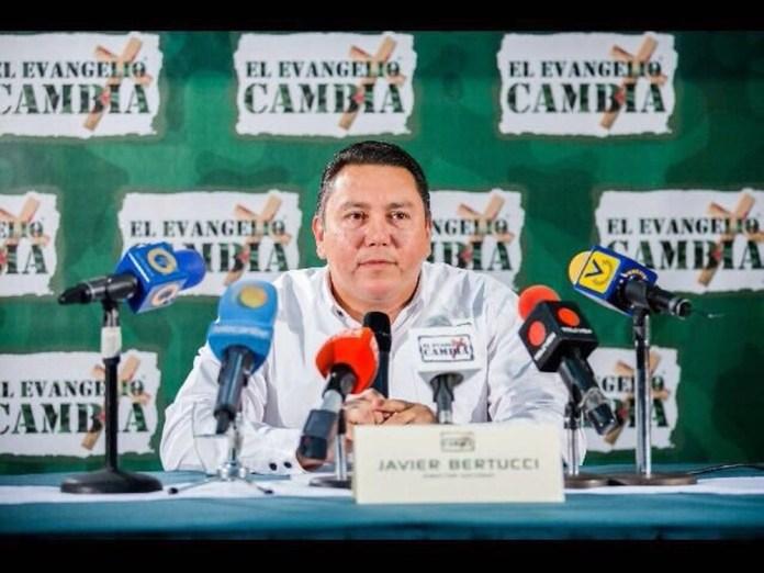 Javier Bertucci, pastor candidato a presidente da Venezuela