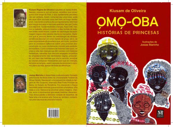 Livro Omo-Oba – Histórias de Princesas, mostra princesas inspiradas em divindades das religiões de matizes africanas