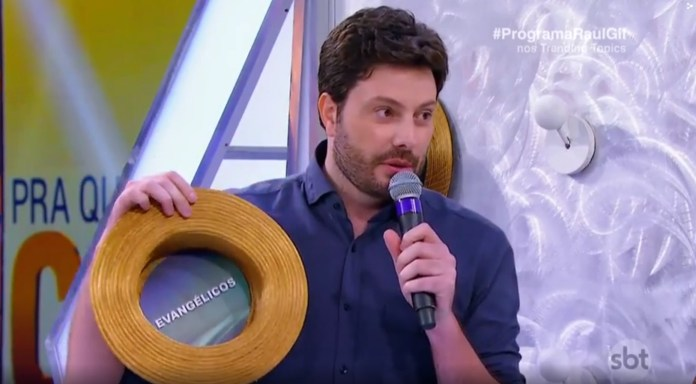 Danilo Gentili no quadro