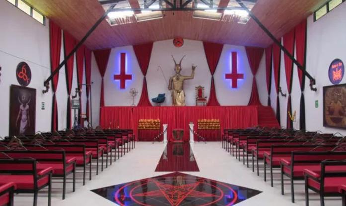 Templo do Diabo na Colômbia