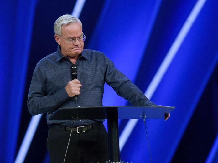Pastor Bill Hybels, fundador da megaigreja Willow Creek Community, de Chicago, Illinois (EUA)