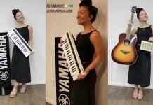 Priscilla Alcântara é a nova artista da Yamaha Musical do Brasil
