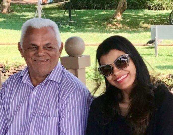 Cantora Damares e seu pai, pastor Antonio, que morreu neste domingo, 27 de maio 2018