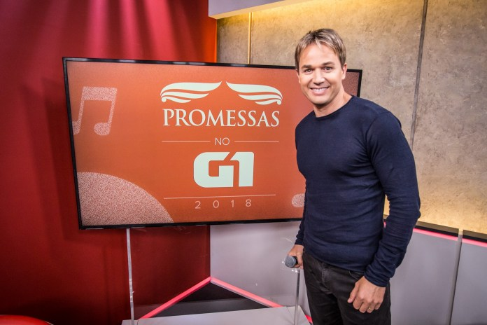 Chris Duran no programa Promessas 2018