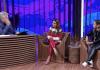 """Aline Barros e Bruna Karla no programa """"Conversa com Bial"""" na Rede Globo"""