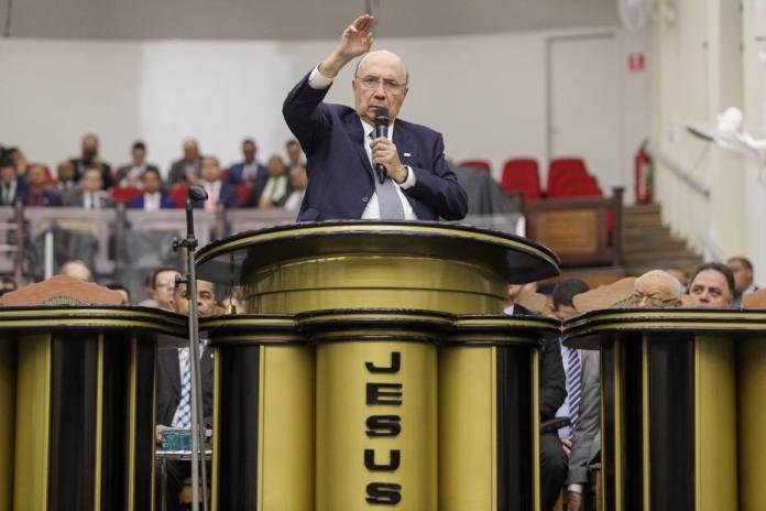 Henrique Meirelles, pré-candidato a Presidência da República nas Eleições Gerais de 2018