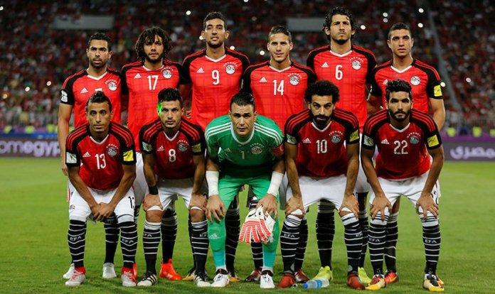 Seleção do Egito na Copa do Mundo de 2018