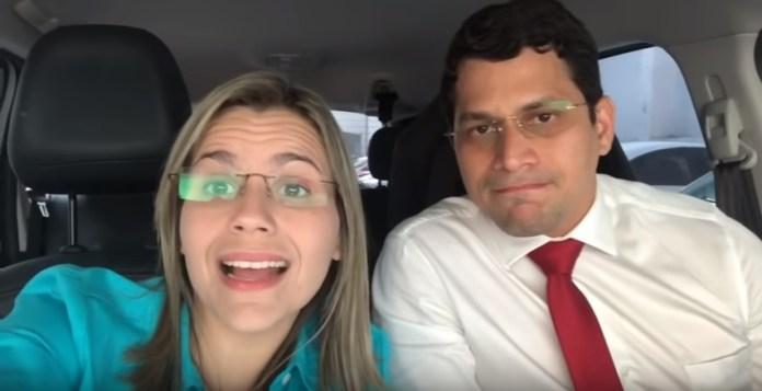 Clarissa Tércio e seu esposo, Pastor Júnior Moura