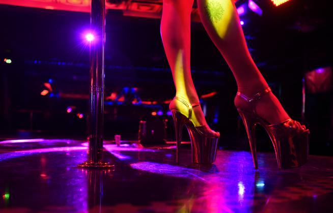 Clube de strip nos EUA