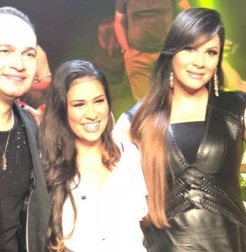 Davi Sacer e Verônica Sacer com a cantora sertaneja Simone Foto: Reprodução/ Instagram