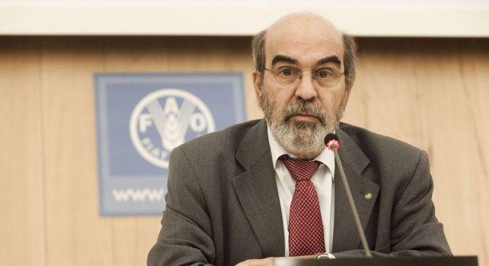 O brasileiro José Graziano da Silva, diretor-geral da FAO
