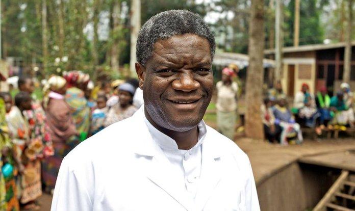 Médico Denis Mukwege recebeu o Prêmio Nobel da Paz 2018. (Foto: Torleif Svensson/EPA)