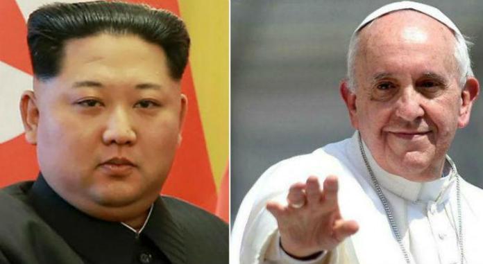 Kim Jong-un convida o Papa Francisco para visitar a Coreia do Norte apesar da perseguição religiosa
