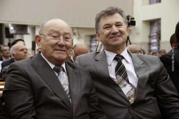 Pastor José Wellington e seu filho, o pastor José Wellington Júnior