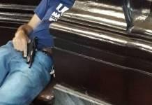 Corpo de suspeito de atirar em fiéis em catedral de Campinas - Divulgação