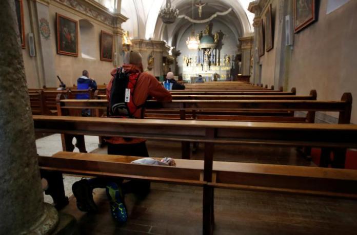 Igreja de St. Michael, em Chamonix, na França