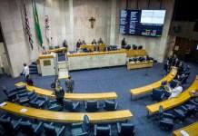 Plenário da Câmara Municipal de São Paulo