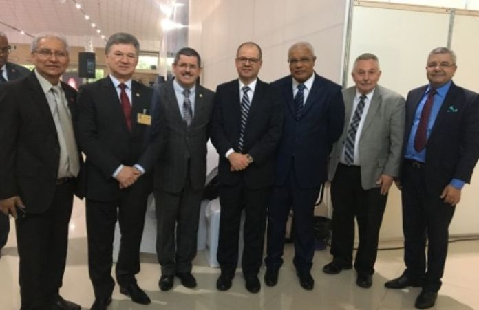 Pastores da CGADB durante a 8ª Assembleia Geral Extraordinária (AGE) realizada em Belém (PA)
