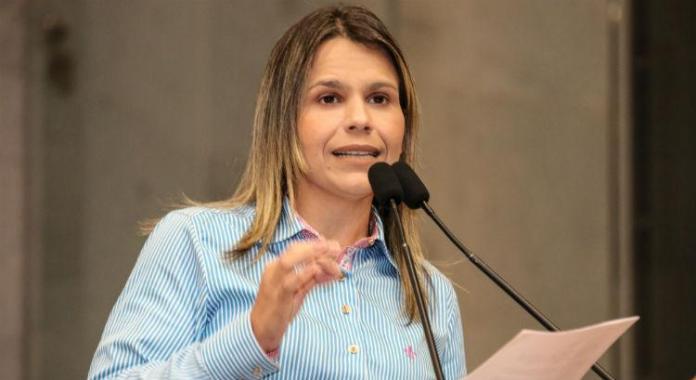 Deputada estadual em Pernambuco, Clarissa Tércio (Foto: Roberto Soares/Alepe)