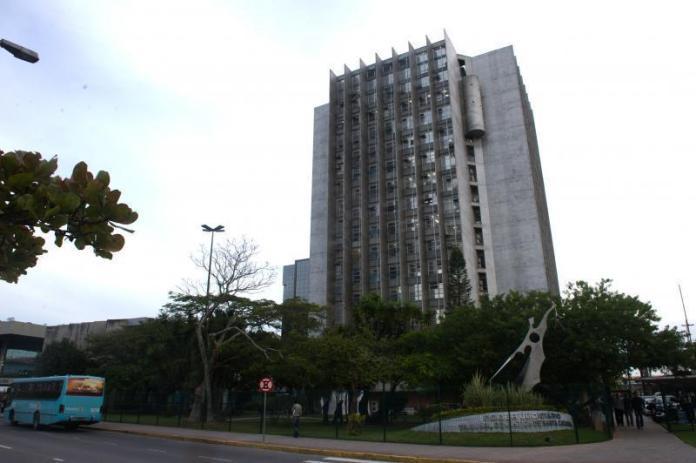 Prédio do Tribunal de Justiça de Santa Catarina
