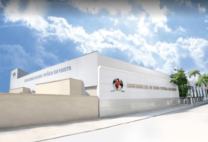Sede da Assembleia de Deus Vitória em Cristo, na Penha, Zona Norte do Rio de Janeiro Foto: Reprodução