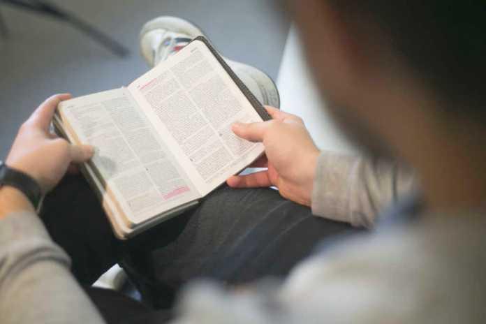 Jovem lendo a Bíblia (Imagem: Freely Photos)