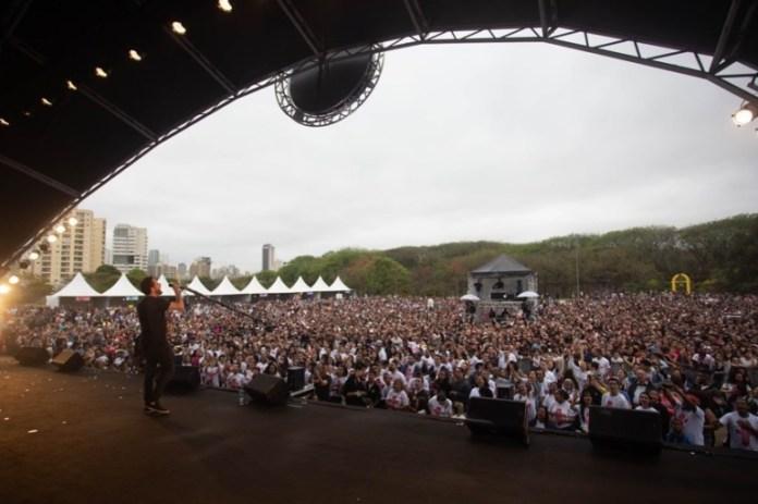 Canto Pela Paz 2019 reúne artistas da música gospel / Foto: Kika Damasceno