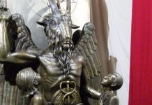 Estátua do satanismo