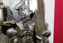 Estátua do satanismo
