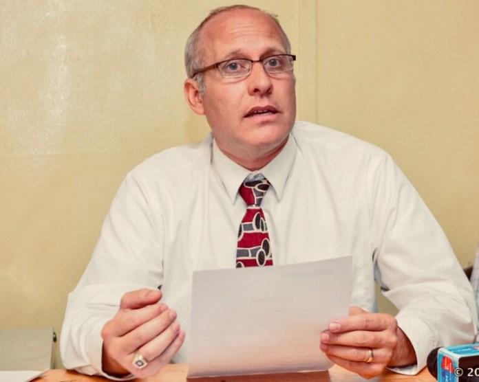 Gregg Schoof, missionário dos EUA deportado de Ruanda.