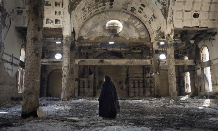 Igreja copta incendiada no Egito