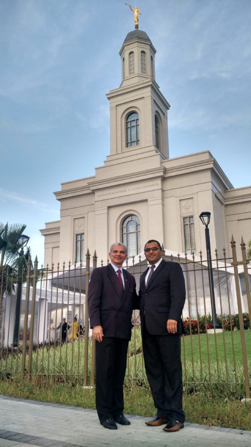 Dr. Gilberto Garcia & Bispo Paulo de Tarso Alexandrino