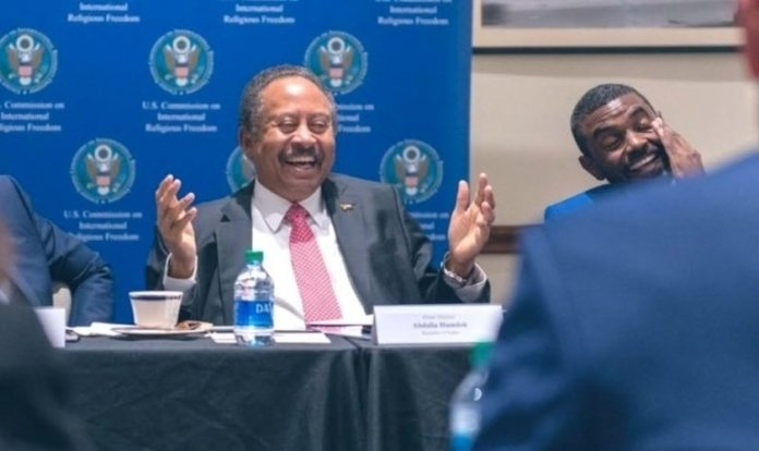 Primeiro-ministro do Sudão, Abdalla Hamdok. (Foto: USCIRF)