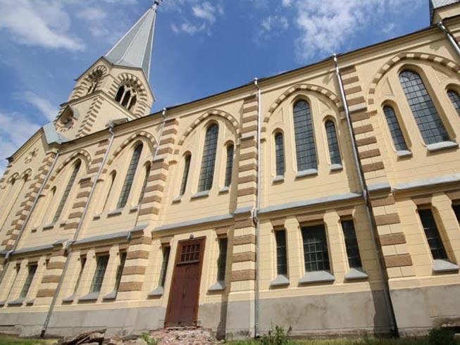 Igreja evangélica na Rússia.