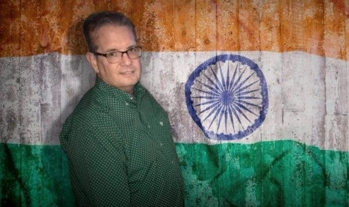 Pastor Bryan Nerren foi preso na Índia.(Foto: Reprodução/Twitter)