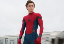 "om Holland como ""Homem-Aranha"" 