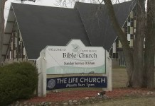 The Life Church of Glenview (Igreja Life of Glenview), em Illinois, EUA.