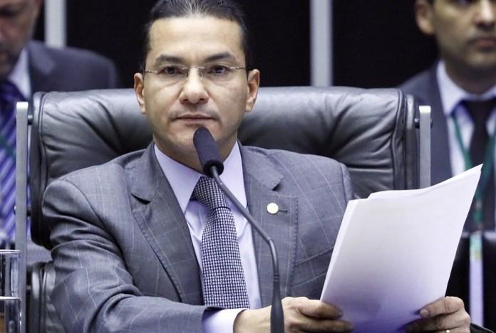 O primeiro vice-presidente da Câmara, deputado Marcos Pereira, do partido Republicanos-SP. (Foto: Luis Macedo/Câmara dos Deputados - março 2020)