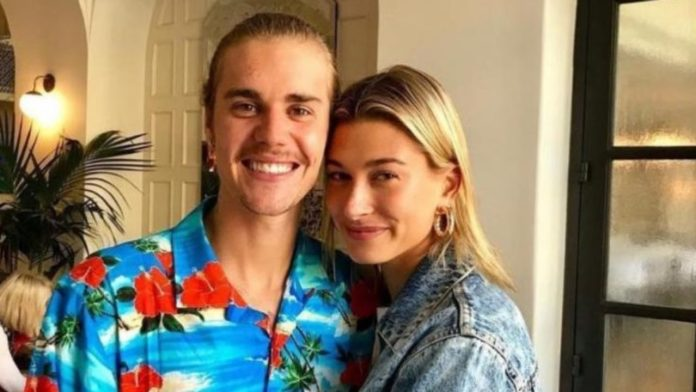 Justin Bieber e sua esposa Hailey