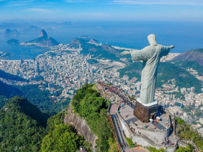 Cristo Redentor da cidade do Rio de Janeiro