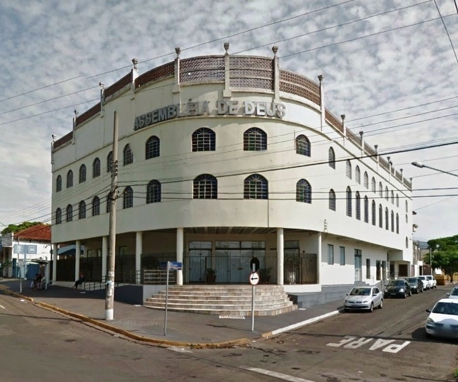 Templo-Sede da Assembleia de Deus em Campo Grande - MS (Madureira)