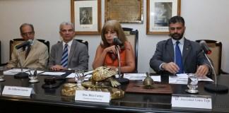 Dra. Rita Cortez, Dr. Gilberto Garcia, Dr. João Theotonio, e Dr. Joycemar Tejo, Foto IAB