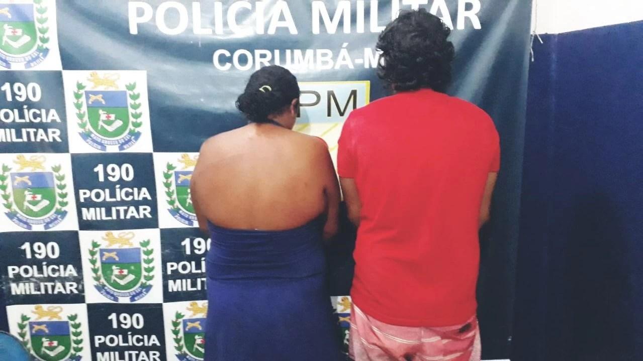Read more about the article Casal é preso por perturbação da tranquilidade na parte alta de Corumbá