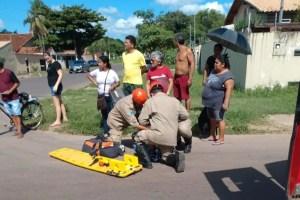 Read more about the article Motociclista fratura o punho em colisão entre carro e moto no Popular Nova