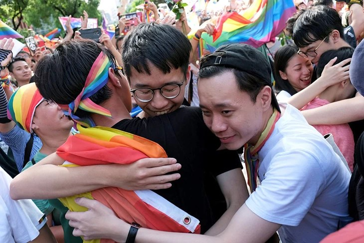 Read more about the article Governo de Taiwan é o primeiro país asiático a autorizar casamento gay