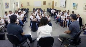 Read more about the article Músicos da Orquestra Sinfônica Brasileira participam de encontro com alunos do Moinho Cultural