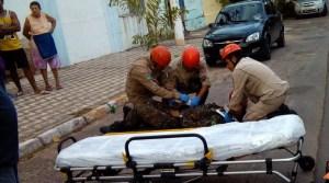 Read more about the article Motociclista fica ferido em colisão com carro no centro